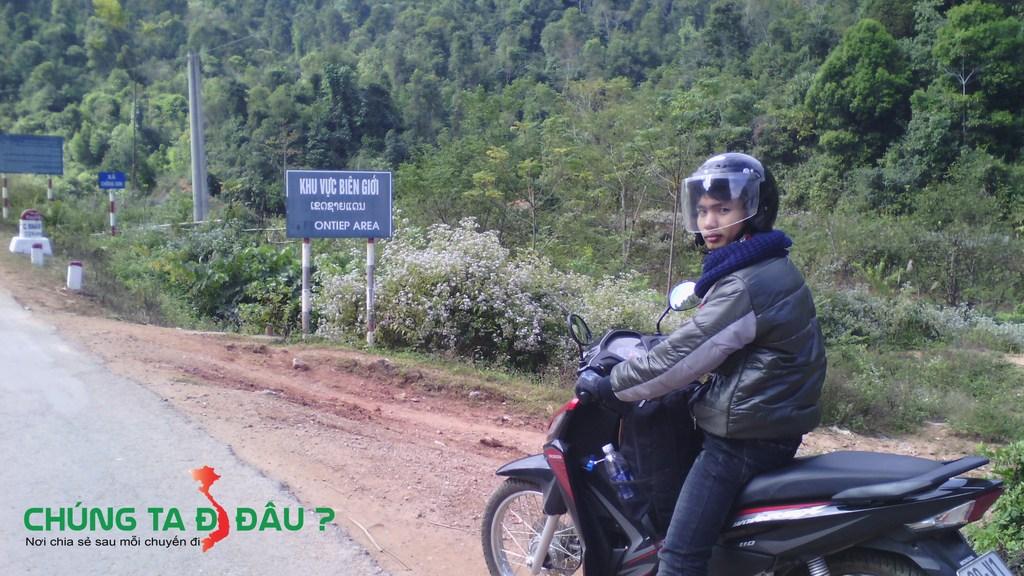 Bước vào khu vực biên giới giữa Việt Nam và Campuchia