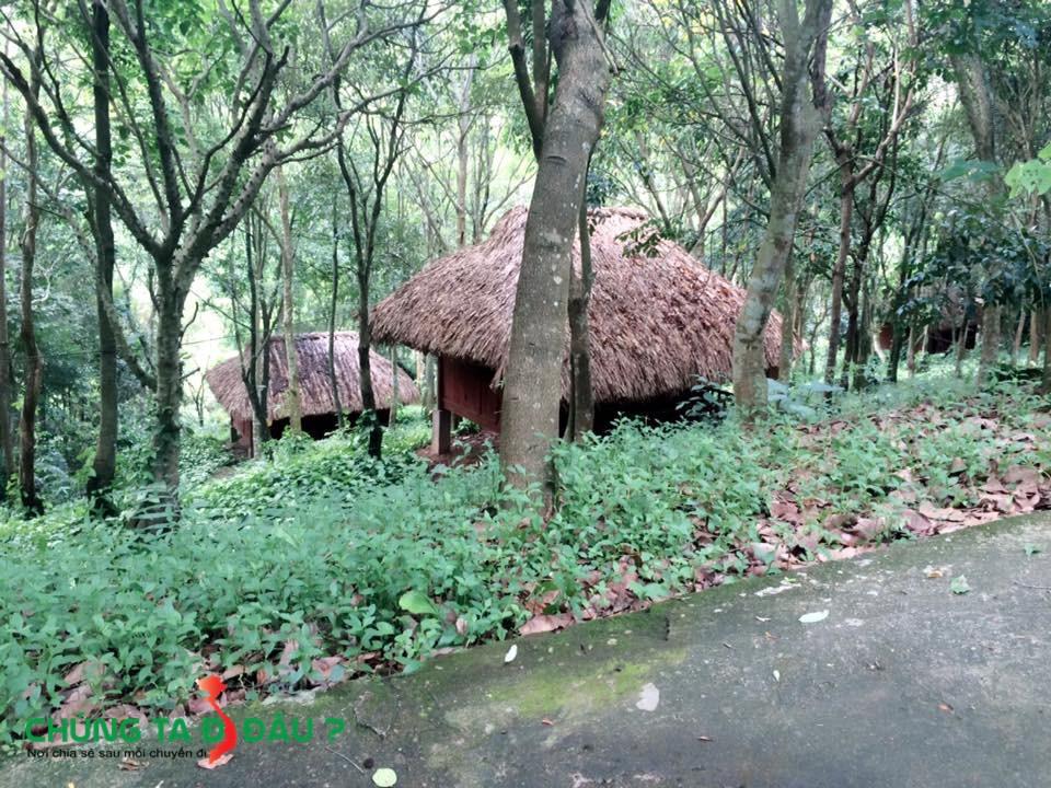 Những ngôi nhà nghỉ chân trong khu du lịch
