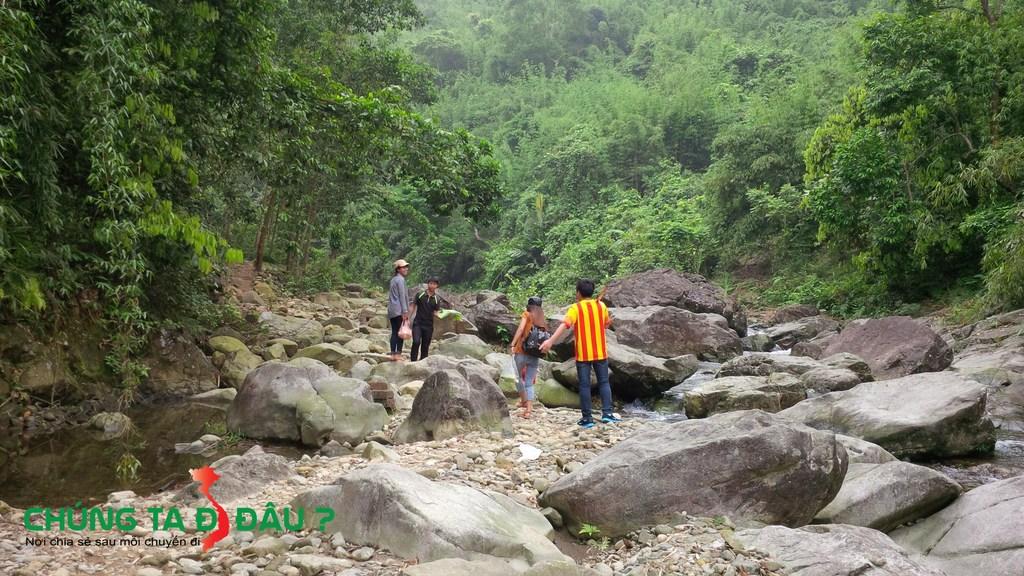 Đường vào thác