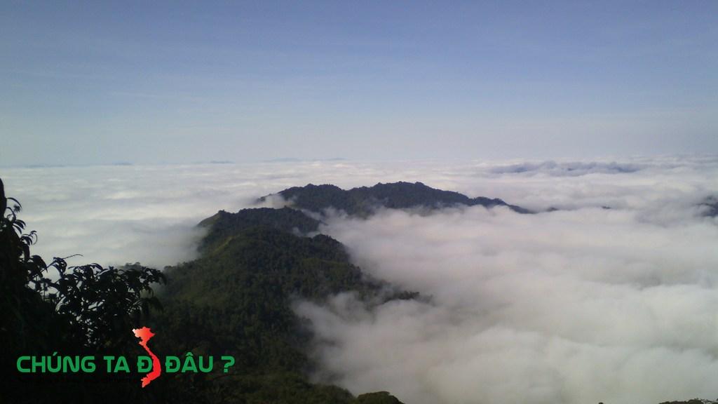 Biển mây Pha luông, sẽ phê hơn khi bạn lên đến đỉnh