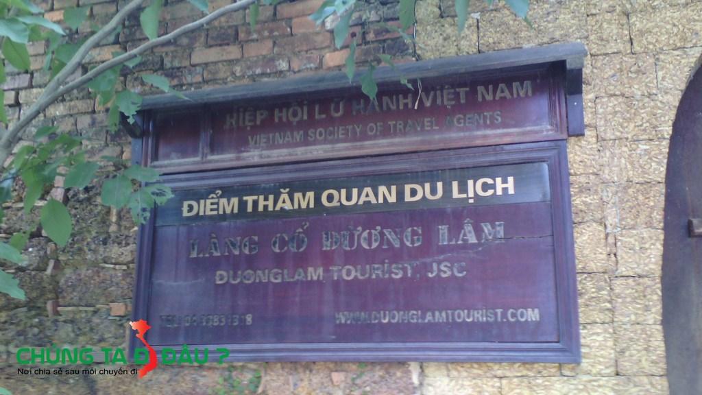 Điểm thăm quan du lịch làng cổ