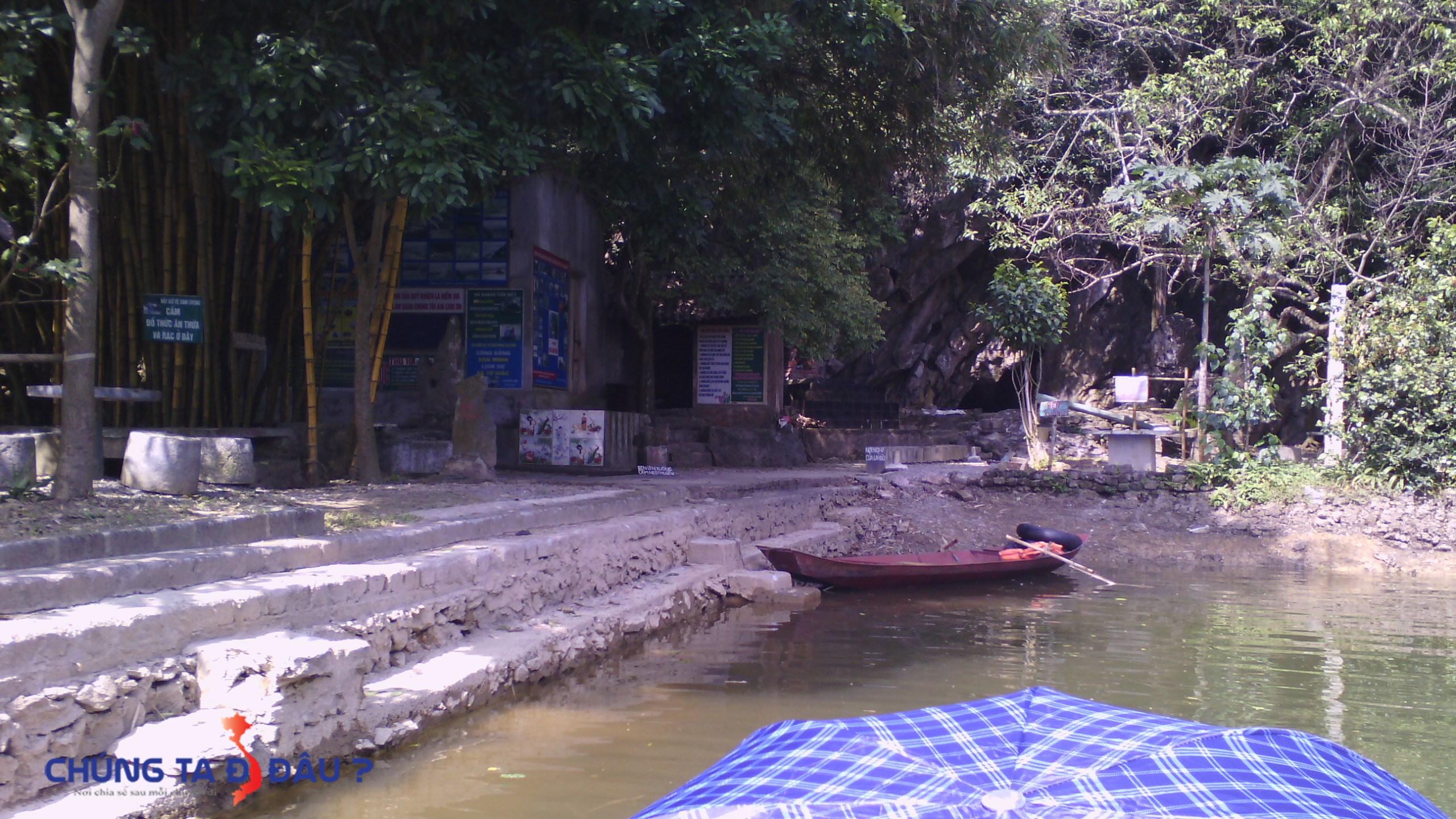 Lối lên đảo Hoa Qủa Sơn