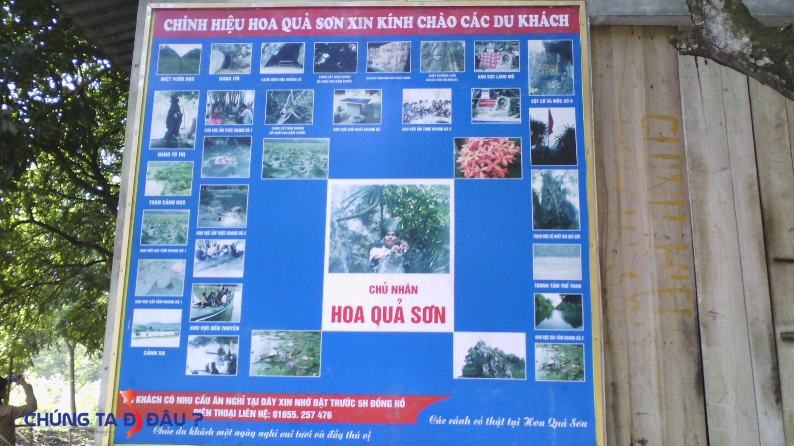 Các hình ảnh đặc trưng về Hoa Qủa Sơn