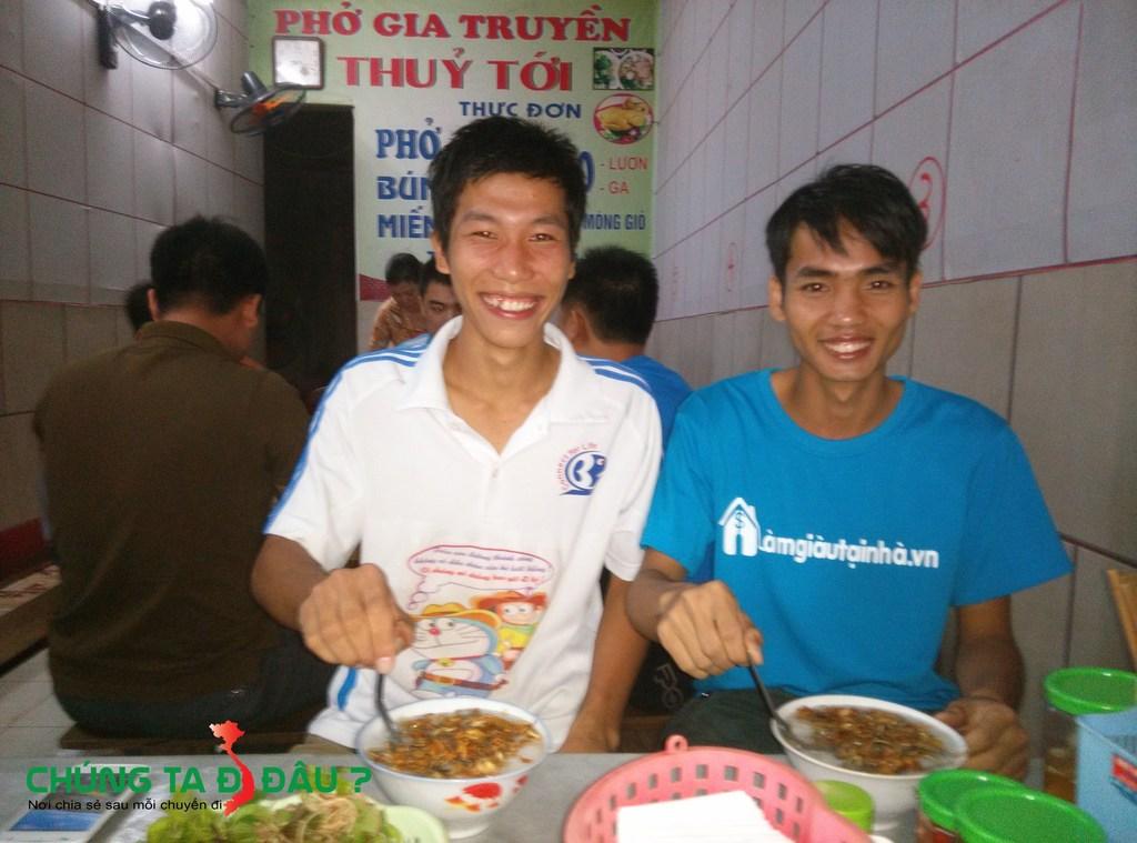 Ăn cháo Lươn tại thị xã Phú Thọ