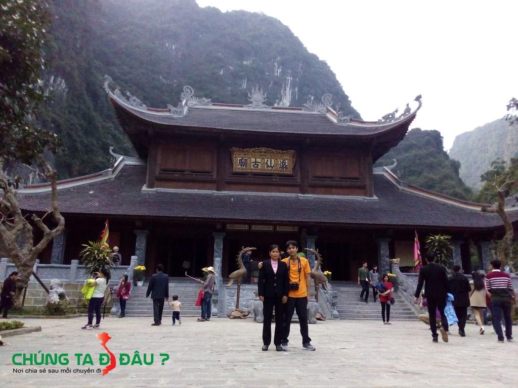 Ngôi chùa này là điểm cuối của tuyến đò