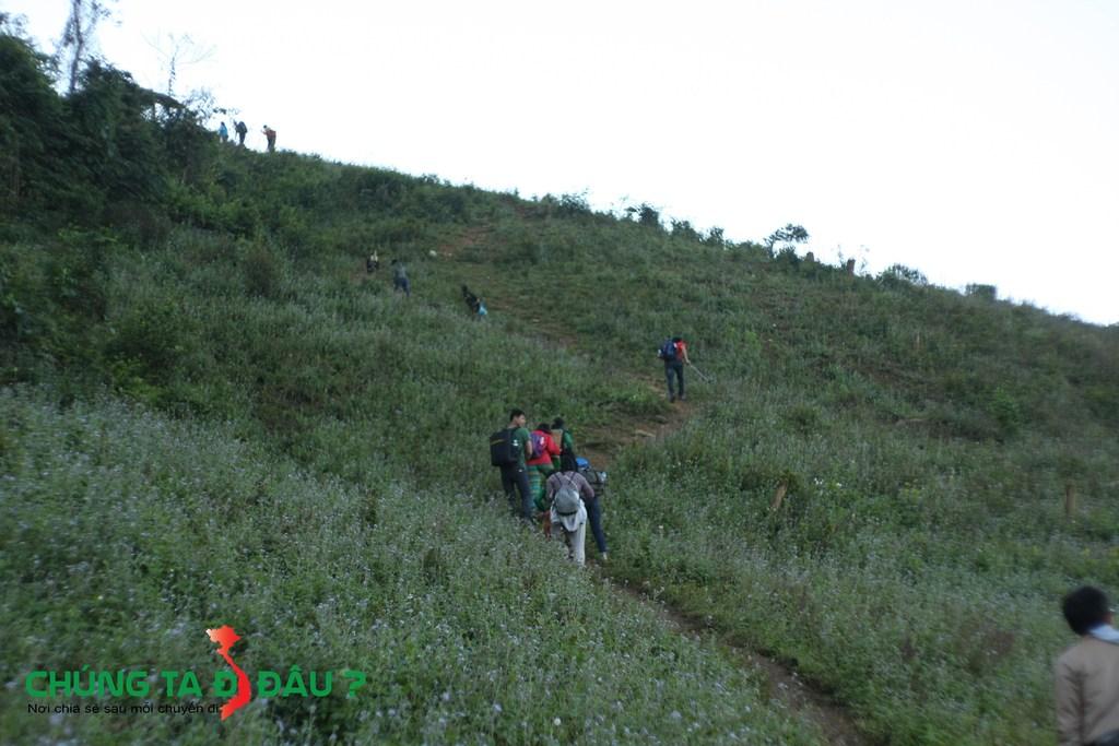1 Đoạn đường trên hành trình chinh phục đỉnh Pha Luông