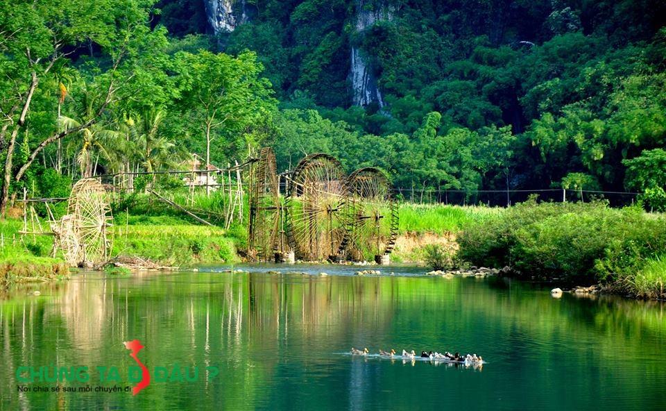Phong cảnh rất nên thơ ở Pù Luông