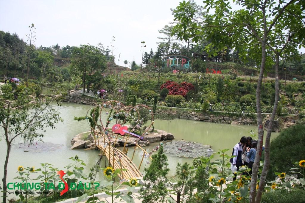 Tiểu cảnh trên sông