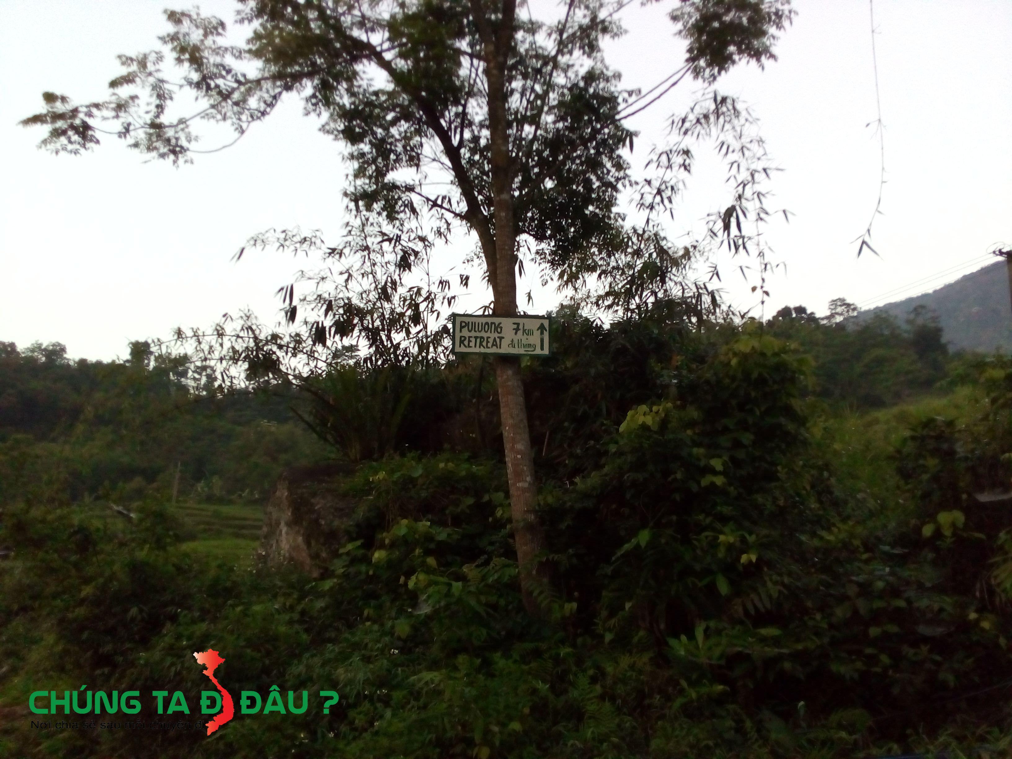 Đoạn này cách Pù Luông Retreat 7km