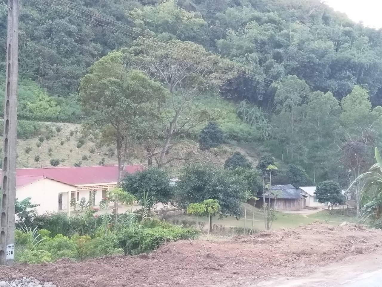 Điểm trường Phiêng Trai nhìn từ xa