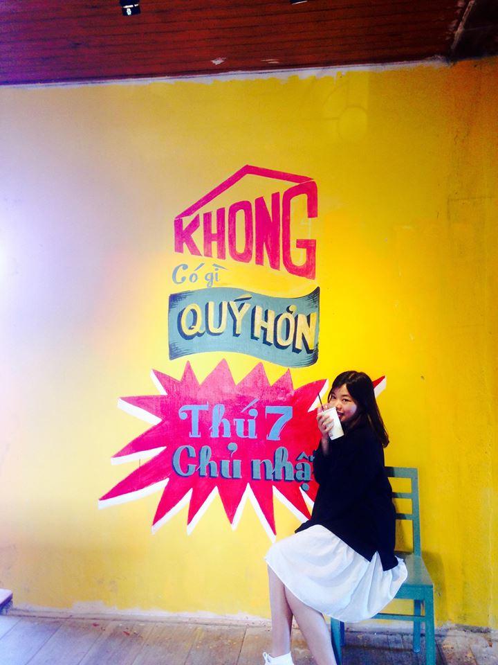 Tiệm cafe Cô Bông