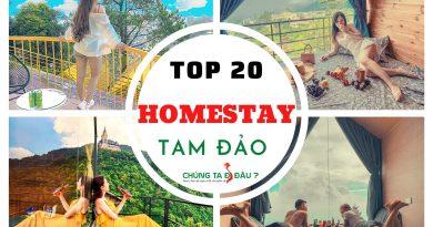 TOP 20 HOMESTAY TAM DAO